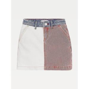 TH Kids Colorblock Denim Skirt