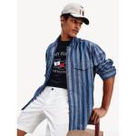 Regular Fit Stripe Overshirt