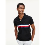 Slim Fit Signature Stripe Polo
