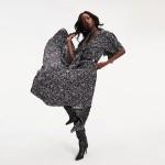 Zendaya Zodiac Print Maxi Dress
