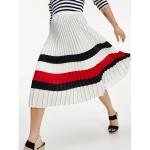 Icon Pleated Chiffon Skirt
