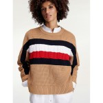 Icon Organic Cotton Stripe Sweater