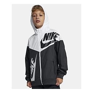 Big Boys Hooded Sportswear Windrunner Colorblocked Jacket