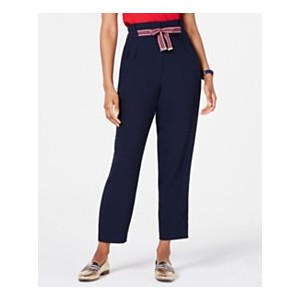 Tie-Front Pleated Pants, Created for Macys