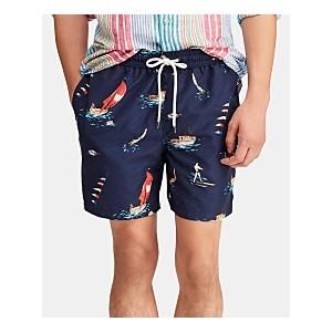 Mens 5-1/2 Traveler Swim Trunks