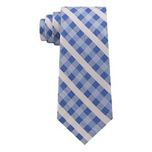 Mens Vermont Classic Plaid Silk Tie