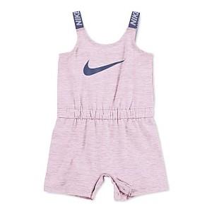 Baby Girls Swoosh Sports Romper