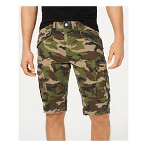 Mens Carter Stretch Camo Twill Cargo Shorts