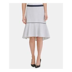 Contrast-Trim Ruffled Skirt, Created for Macys