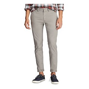 Mens Stretch Cotton Twill Pants