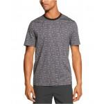 Mens Geoprint Tonal Dot T-Shirt