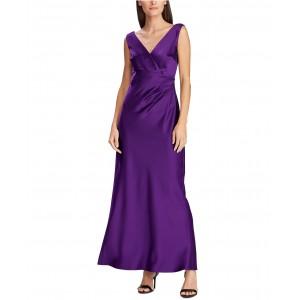 Sleeveless Satin Evening Gown, Created For Macys