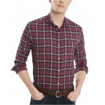 Mens Warren Classic-Fit Plaid Shirt