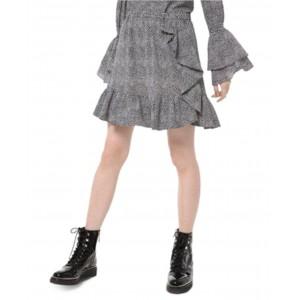 Printed Ruffled Skirt, Regular & Petite Sizes