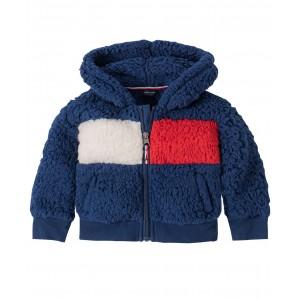 Baby Girls Flag Fleece Zip-Up Jacket