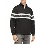 Mens Logo Quarter-Zip Sweatshirt
