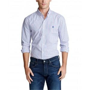 Mens Big & Tall Classic Fit Tattersall Shirt