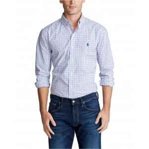 Mens Big & Tall Classic Fit Tattersall Shirt