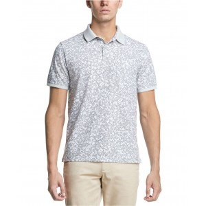 Mens Camo-Print Polo Shirt