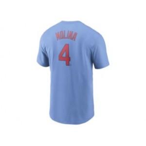 Mens Yadier Molina St. Louis Cardinals T-Shirt