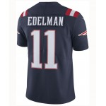 Mens Julian Edelman New England Patriots Limited Color Rush Jersey