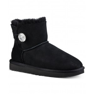 Womens Bailey Bling Mini Booties