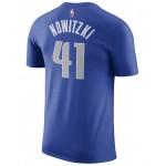 Mens Dirk Nowitzki Dallas Mavericks Name & Number Player T-Shirt