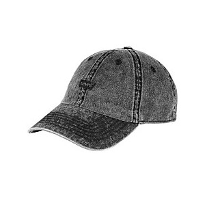 Mens Twill Enzyme Washed Baseball Cap