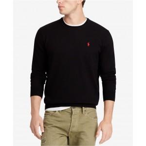 Mens Merino Wool Crew-Neck Sweater