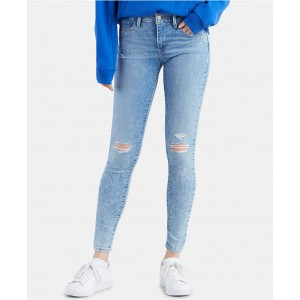 Womens 710 Super Skinny Colored Jeans