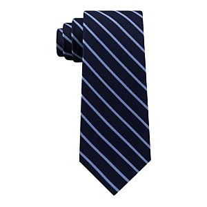 Mens Exotic Stripes Silk Tie