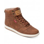 Mens Stanton Waxed High-Top Sneakers