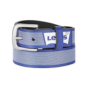 Big Boys Striped Logo Reversible Belt