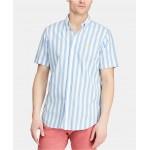 Mens Big & Tall Classic-Fit Striped Shirt