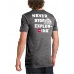 Mens Tri-Blend Gear Graphic T-Shirt