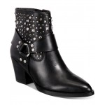 Womens Pia Studded Western Booties