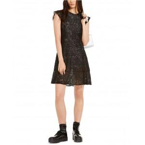 Lace Flounce Dress