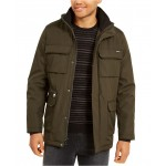 Mens Bonded All-Season Hooded Jacket, Created for Macys