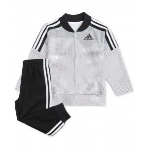 Baby Boys Printed Tricot Jacket & Pants Set