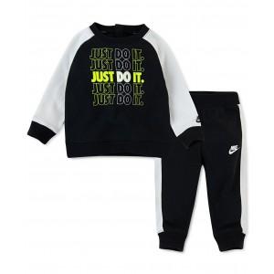 Baby Boys 2-Pc. Fleece Sweatshirt & Jogger Pants Set