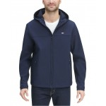Mens Logo Graphic Hooded Soft-Shell Jacket, Created for Macys