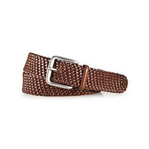 Mens Accessories, Savannah Braided Leather Belt