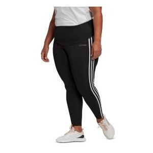 Plus Size Striped Pull-On Pants
