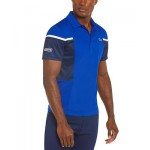 Mens Sport Regular-Fit Colorblocked Polo Shirt