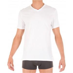 Mens Classic V Neck 3 Pack Undershirts 09TVN01