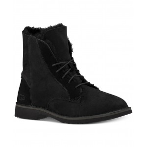 Womens Quincy Lace-Up Boots