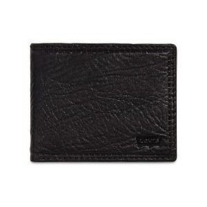Mens RFID Extra-Capacity Leather Wallet