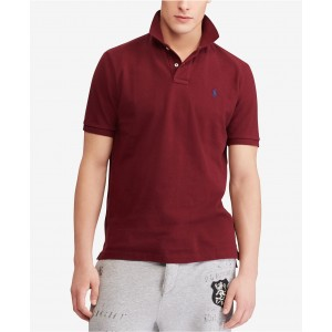Mens Big & Tall Classic Fit Cotton Mesh Polo