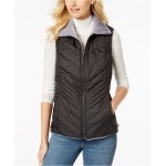 Mossbud Insulated Water-Repellent Reversible Vest