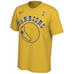Mens Golden State Warriors Hardwood Classics Logo T-Shirt